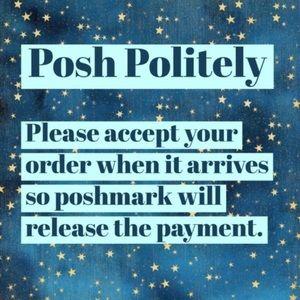 My Posh policy please read!